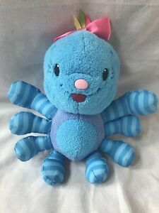 """Leap Frog Baby Lulu the Spider  6"""" Plush Stuffed Animal Toy Little Leaps"""