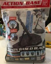 Bandai Hobby Action Base. 1 Display Stand (1/100 Scale) it's black and new!