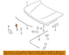 SUZUKI OEM 89-01 Swift Hood-Support Prop Rod Clip Clamp Holder 0940307311