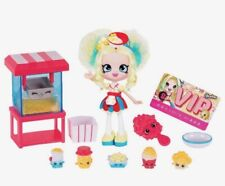 Shopkins Shoppies POPETTE'S POPCORN STOP Playset ~ 2016 Collectible ~ NEW