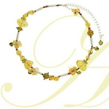The Flower & Dots Necklace from Lalo Orna's Can Can Collection