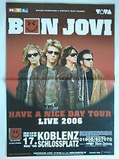 BON  JOVI    2006      orig.Concert Poster  - Tour Poster    84 x 60 cm