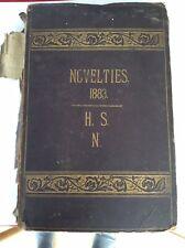 More details for antique victorian scrapbook 55 pages