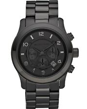 Michael Kors Men's MK8157 'Runway' Chronograph Black Stainless steel Watch