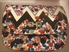 Salvatore Ferragamo Multi Floral Leather Crossbody Bag Brand New