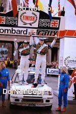Ari Vatanen Peugeot 205 Turbo 16 Winner RAC Rally 1984 Photograph 3