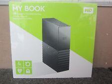 WD My Book Western Digital 4TB External HD, Newest Version