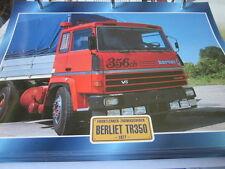 SUPER Trucks FRONT MANUBRIO Francia Berliet tr350, 1977