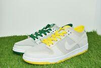 New Nike SB Zoom Dunk Low Pro Decon QS Size 9 White/Verde Yellow AR1399 113