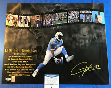 LaDainian Tomlinson Signed 16x20 Metallic Photo San Diego Chargers Beckett COA 1