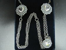 Montana Silversmiths Necklace Womens Tokens of Love Rope Silver NC1564