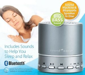 Sound Oasis BST-100 Bluetooth Sleep Sound Therapy System