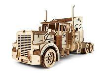 Combo Deal! UGears Heavy Boy Truck + Trailer - Wooden Mechanical Models