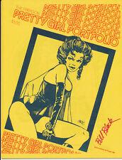 PRETTY GIRL PORTFOLIO NO.1 - Paragon Publications 1981 - SIGNED- N.MINT BYRNE