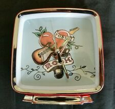 """""""Rock"""" Alarm Clock by Fossil USED Good Condition Battery Operated"""