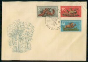 Mayfairstamps GERMANY FDC 1959 COVER WILDLIFE COMBO wwm30797