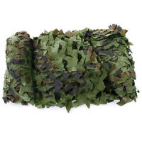 Filet Camouflage Camo Camping 5m x 1.5m Chasse Foret Camouflable K7Q5