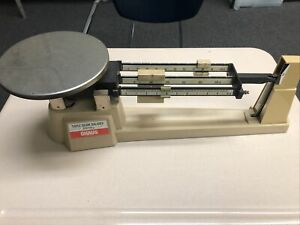 Vintage Ohaus Triple Beam Balance 2610 G Scale