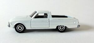 MATCHBOX 1961 FORD FALCON RANCHERO PEARL WHITE DIECAST SCALE APPROXIMATELY 1/64