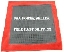 CLAY BAR MICROFIBRE TOWEL SOFT GRADE RED 125G DETAILING CLOTH CAR WASH AUTO