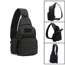 Waterproof Cross Body Sling Chest Pack Messenger Military Tactical Shoulder Bag