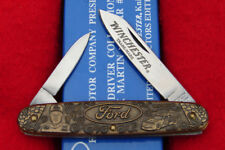 Winchester USA NASCAR Mark Martin #6 Ford Bronze Pocket Knife TK-002 1995 RARE!!