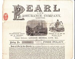 TWO FREE LIFE POLICIES, PEARL LIFE ASSURANCE, NORWICH, NORFOLK RESIDENTS, 1901