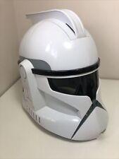 Hasbro Star Wars Clone Trooper Voice Changer Helmet with Working Sounds. 2008