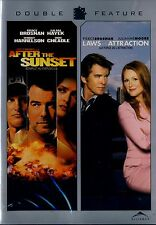 NEW DOUBLE FEATURE DVD // PIERCE BROSNAN / AFTER THE SUNSET + LAWS OF ATTRACTION