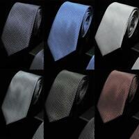 la mode partie business classique soie jacquard tissés floral cravate