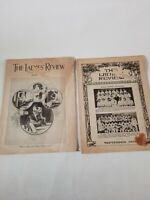 Lot Of 2 Vtg The Ladyies Review Magazine's May And September 1932
