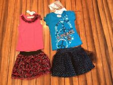 Outfits Nwt $66 retail Girls size 6 Lot of 2 outfits, 5 pieces Lot Outfits New