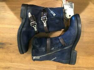 A.S.98 Navy Blue Boots, size 37 nwob