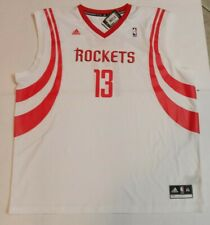 Houston Rockets James Harden 13 3XL Jersey NBA Basketball White Red Adidas NWT