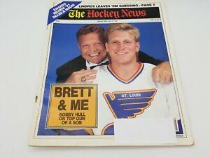The Hockey News Magazine 1993 Bobby Hull Cover