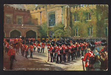 c1910 Tuck signed Harry Payne changing of the Guard St.James London Uk postcard