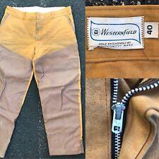 Vintage Western Field Montgomery Ward Duck Hunting Pants Vinyl Reinforced