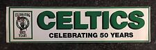 Boston Celtics 50th Anniversary Bumper Sticker NBA