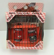 New Vintage Sparkcoal Portable Disposable Grill Picnics Camping Boating Travel