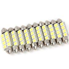 10x Car LED Light Festoon Dome 41MM 8SMD 5050 Landscaping Light Lamp White Bulbs