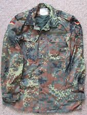 GERMAN ARMY MILITARY FLECKTARN CAMO BDU UNIFORM JACKET SHIRT SIZE GR13 LARGE+