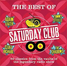 THE BEST OF SATURDAY CLUB 50 CLASSICS FROM THE VAULTS, INC ADAM FAITH &MANY MORE