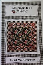 """FRENCH MEDALLION"" QUILT PATTERN BY SANDY KLOP FOR AMERICAN JANE PATTERNS"
