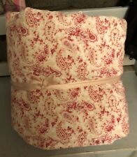 SIMPLY SHABBY CHIC RACHEL ASHWELL COUNTRY PAISLEY ROSES FULL/QUEEN