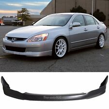 FOR HONDA ACCORD 2003-2005 4DR SEDAN FRONT BUMPER LIP SPOILER BODYKIT HFP PU