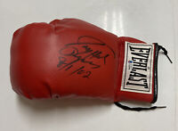 LARRY HOLMES Signed Everlast Boxing Glove Beckett BAS Z45096