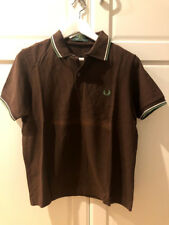 Polo Fred Perry 38 top shirt camisa mod skin ska trend Pretty Green