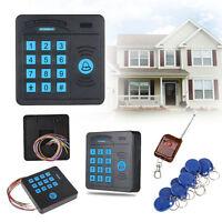 RFID Proximity Entry Door Lock Access Control System Security + Keys Card Remote