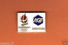 Pin's - AGF Assurances - Albertville 92  (1006)