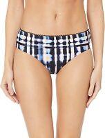 Lucky Brand Women's 169925 Wide Side Hipster Bikini Swimsuit Bottom Size L